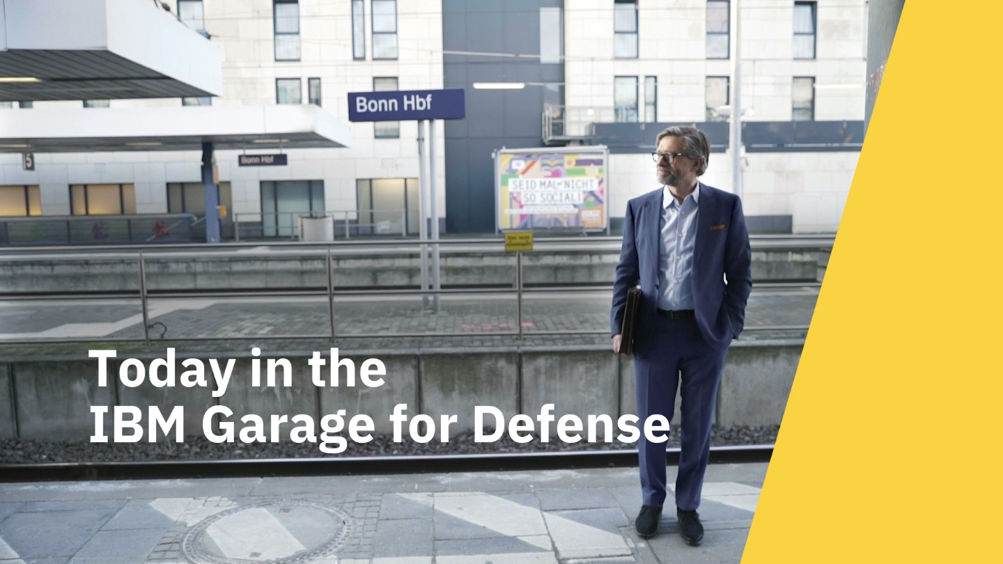 Video Vater Smart besucht die IBM Defense Garage